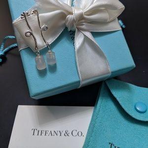 Authentic Tiffany & Co. Rose Quartz Earrings